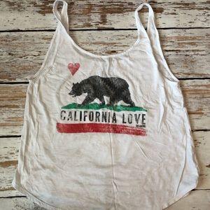 Billabong oversized tank size med California love